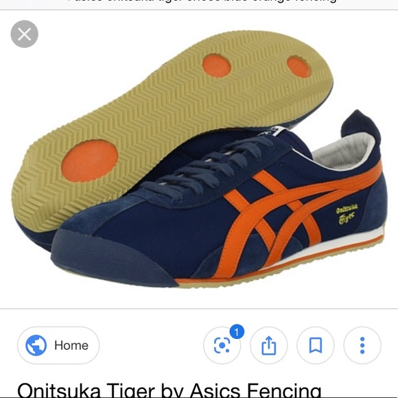 ASICS Onitsuka Tiger fencing shoes